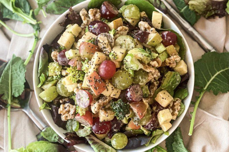 No-Cook Waldorf Salad